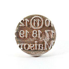 Maison Martin Margiela - Ring - Sterling Silver - Letter Stamp Design