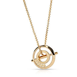 Chopard Happy Diamonds Necklace in 18K Yellow Gold 0.45 CTW