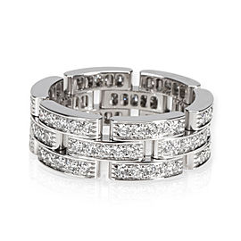 Cartier Panthere Diamond Ring in 18K White Gold 1.8 CTW