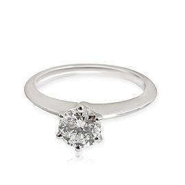 Tiffany & Co. Diamond Solitaire Ring in Platinum I VS1 0.76 CTW