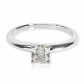 Blue Nile Diamond Engagement Ring in 14K White Gold GIA I SI2 0.71 CTW