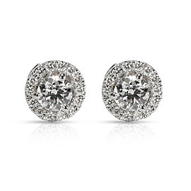 Blue Nile Diamond Stud Earrings with Jackets in 14K Gold J VS1-VS2 1.16 CTW