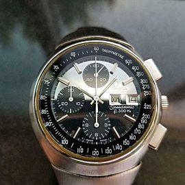 Mens Omega Speedsonic 44mm Quartz Chronograph Watch, c.1970s Swiss LV109