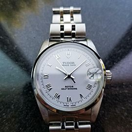 Mens Midsize Tudor Prince Date 72000 32mm Automatic, c.2000s Swiss MS134