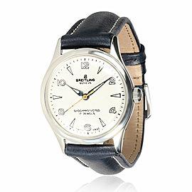 Breitling Geneve Geneve Unisex Vintage Watch in Stainless Steel