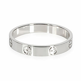 Cartier Love Wedding Band in Platinum