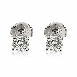 Tiffany & Co. Diamond Stud Earring in Platinum 1.32 CTW