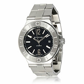 Bulgari Diagono DG 40 S Men's Watch in Stainless Steel