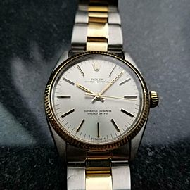 Mens Rolex Oyster Perpetual Ref.1005 18k Gold & SS Automatic, c.1980s LV718