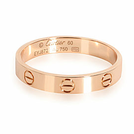 Cartier Love Wedding Band in 18K Pink Gold