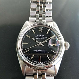 Mens Rolex Oyster Datejust Ref.1601 36mm Automatic, c.1960s Swiss Vintage RA131