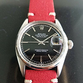 Mens Rolex Oyster Datejust Ref.1601 36mm Automatic, c.1960s Vintage RA131RED