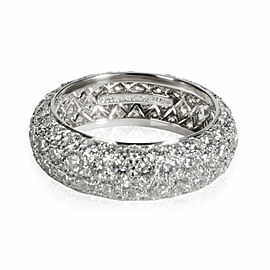 Tiffany & Co. Etoile Diamond Band in Platinum G VS 2.90 CTW