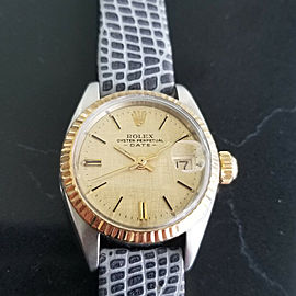 Ladies Rolex Oyster Date Ref.6917 26mm 18k Gold & ss Automatic, c.1970s LV747GRY