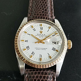 Mens Rolex Oyster Perpetual Date Ref.1505 35mm Automatic, c.1970s RA106BRN