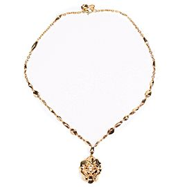 Chanel - New - 18K Yellow Gold Lion Necklace Sous le Signe de Pendant V39992
