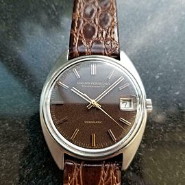 Mens Girard Perregaux Gyromatic 34mm Automatic 1960s Date Vintage Swiss LV838