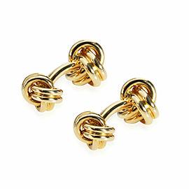 Tiffany & Co. Knot Cufflinks in 18K Yellow Gold