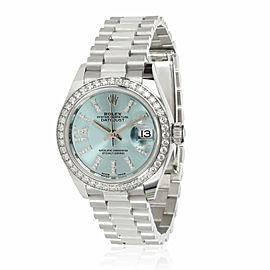 Rolex Datejust 279136RBR Women's Watch in Platinum