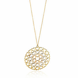 Tiffany & Co. Paloma Picasso Crown of Hearts Medallion in 18K Yellow Gold