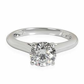 Cartier 1895 Diamond Solitaire Ring in Platinum G VS1 1.3 CTW