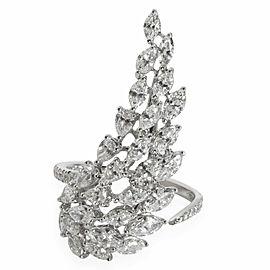 Messika Angel Wing Diamond Ring in 18K White Gold 2.25