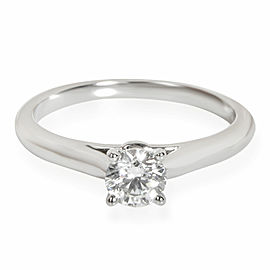 Cartier 1895 Diamond Solitaire Ring in Platinum G VVS2 0.30 CTW
