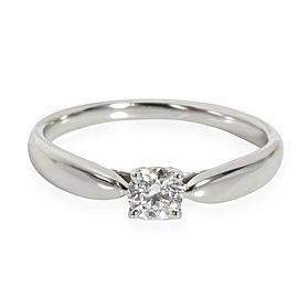 Tiffany & Co. Harmony Diamond Solitaire Ring in Platinum H VS1 0.21 CTW
