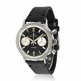 Bucherer Chrono Chrono Men's Vintage Watch in Stainless Steel