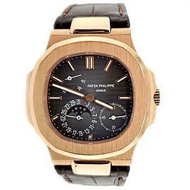 Patek Philippe Nautilus 40mm 18K Rose Gold Watch 5712R-001