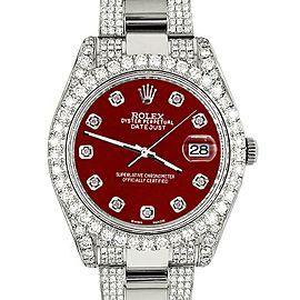 Rolex Datejust II 41mm 10.3CT Diamond Bezel/Case/Bracelet/Imperial