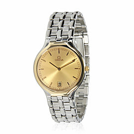 Omega Symbol 196 0316 396 1016 Unisex Watch in 18kt Stainless Steel/Yellow Gold