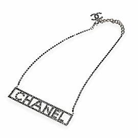 Chanel Ruthenium Bar Necklace