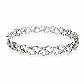 Tiffany & Co. Paloma Picasso Loving Hearts Bangle in Sterling Silver
