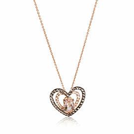 LeVian Hearts & Flowers Morganite Pendant