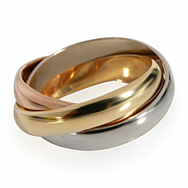 Cartier Trinity Ring in 18K 3 Tone Gold