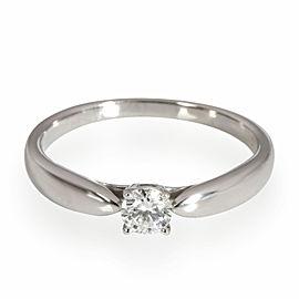Tiffany & Co. Harmony Diamond Engagement Ring in Platinum I VS1 0.18 CT
