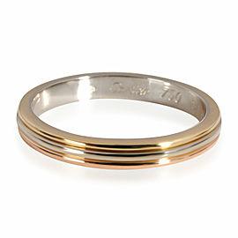 Cartier Louis Cartier Vendome Ring in 18K 3 Tone Gold