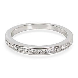 Tiffany & Co. Diamond Wedding Band in Platinum (0.21 CTW)