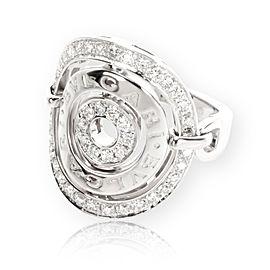 Bulgari Concentrica Diamond Ring in 18K White Gold 0.66 CTW