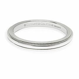 Tiffany & Co. Classic Milgrain 2mm Wedding Band in Platinum