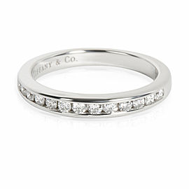 Tiffany & Co. Channel Set Diamond Wedding Band in Platinum 0.24 CTW