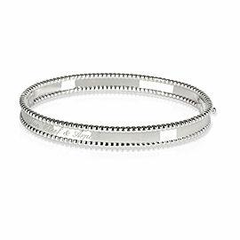 Van Cleef & Arpels Perlee Bracelet in 18K White Gold