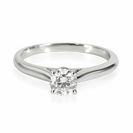 Cartier 1895 Diamond Engagement Ring in Platinum G VS1 0.35 CTW
