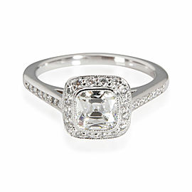 Tiffany & Co. Legacy Diamond Engagement Ring in Platinum H VVS1 0.98 CTW