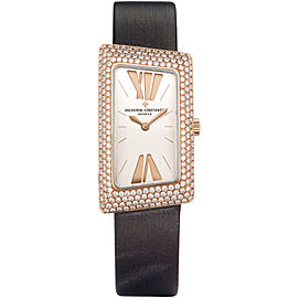 Vacheron Constantin 1972 25515/000R-9254 18K Rose Gold with Silver Dial 21mm Womens Watch