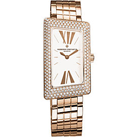Vacheron Constantin 1972 25515/U01R-9254 18K Rose Gold with Silver Dial 21mm Womens Watch