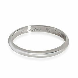 Cartier 1895 Plain Wedding Band in Platinum