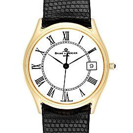 Baume Mercier Classima 14K Yellow Gold Mens Watch 95248