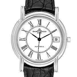 Baume Mercier Classima White Gold Mens Watch MV045077 Box Papers